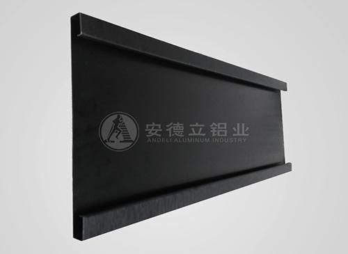 阳极氧化黑色拉丝铝板